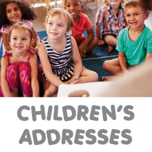 childrens addresses_promos set